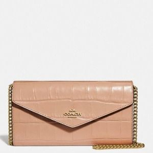 Coach Envelope Wallet on Chain WOC NEW WITH TAGS